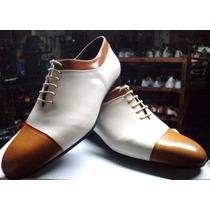Calzados De Tango- Zapatos De Tango - Cuero Natural