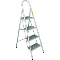 Escalera 4 Escalones Plegable Metal Super Resistente 1,10mt