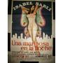 Afiche De Una Mariposa En La Noche Isabel Sarli