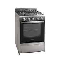 Cocina A Gas Patrick 6656ivs Inox 56 Cm Panoramica Tio Musa