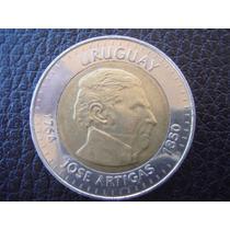 Uruguay - Moneda Bimetalica D 10 Pesos, Año 2000 - Muy Bueno