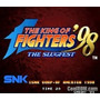 Cartucho De Neo Geo The King Of Fighter 98