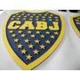 Escudos De Boca Juniors 25cm En Mdf Pintados Con Relieve