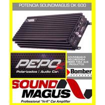 Potencia Sound Magus Dk600 600rms Monoblock.mini Una Bomba