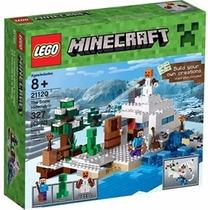Lego Minecraft The Snow Hideout 21120-envio Gratis
