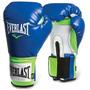 Guantes De Boxeo Pro Style Training Everlast.- Azul/verde