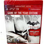 Batman Arkham City Para Ps3| Disco Fisico- Minijuegosnet