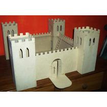 Castillo Medieval En Mdf