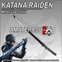 Katana Espada Raiden Del Juego Metal Gear Solid Rising