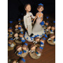 Centro De Torta Para Bodas Novios Personalizados Casamientos