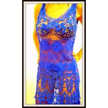 Vestido Playero Vs Colores