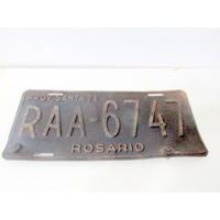 Patente De La Provincia De Santa Fe Raa Rosario