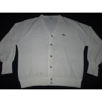 Campera De Hilo Lacoste Izod Talle L Made In Usa