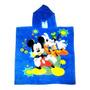 Toallón Poncho Con Capucha Para Chicos Mickey