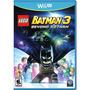 Lego Batman 3 Beyond Gotham Wii U Nuevo Sellado Original