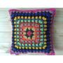 Almohadón Tejido Al Crochet
