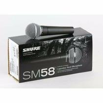 Microfono Shure Sm 58 Original Mejico Canje Envio Tarjeta!
