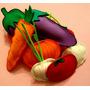 Frutas Y Verduras Goma Eva - Maestra Jardinera
