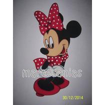 Figura En Goma Eva, Artesanales,mickey,minnie,disney !!!