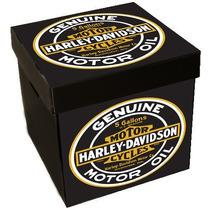 Cajas Juguetes Corrugado Plástico 33x33x34 Harley Davidson