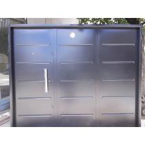 Porton Garage Abrir De Seguridad Todo Chapa 18 3 Cerraduras