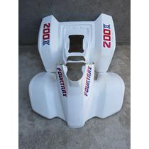 Cuatriciclo Honda Trx 200 - Plasticos Cachas