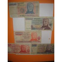 Lote De Billetes Antiguos Argentinos