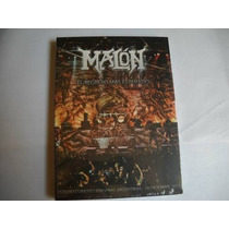 Malon - El Regreso!!- Dvd+cd Nuevo (iron Maiden-v8-riff)
