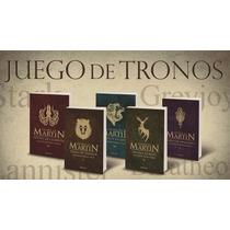 Juego De Tronos Saga Completa Canción Hielo Y Fuego Bolsillo