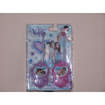 Walkie Talkie Violetta Disney Channel Handy Infantil Violeta
