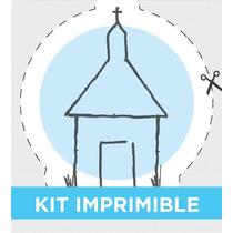 Kit Imprimible Personalizado Para Bautismo Y Comunión Nene