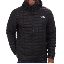 Campera The North Face Thermoball Hoodie Negra, No Pluma
