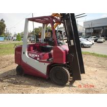Autoelevador Tcm Acroba- Ideal Cargas Largas- Diesel 2,5 Tn.