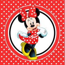 Kit Imprimible Minnie Roja Candy Bar Invitaciones Decoracion