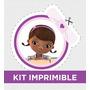 Kit Imprimible Dra Juguetes Golosinas Souvenir Candy Cumple