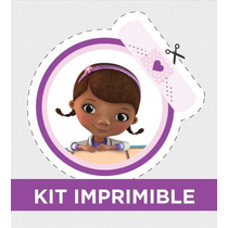 Kit Imprimible Dra Juguetes Personalizado Para Cumple