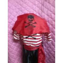 Disfraz Pirata Del Talle 4.6.8.10.12