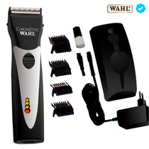 Máquina Corte Profesional Clipper Recargable Chromstyle Wahl