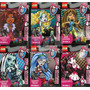 Promo 6 Monster High Muñecas Articuladas Figuras Envío