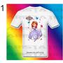 Remera Princesa Sofia Para Niñas Estampada Exclusivo Diseño