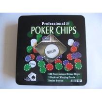 Fichasx100,1ficha Dealer,2mazo Poker Entregas Gratis En Caba