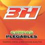 Gazebo 3h Carpa Plegable 3x3 Aluminio Con Paredes + Funda
