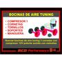 Nuevas Bocinas De Aire Tuning 3 Cornetas Con Compresor 12v