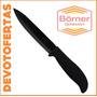 Cuchillo Ceramica Borner Hoja 12,5 5 Mango Silicona Aleman