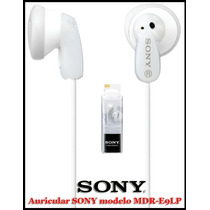 Auricular Sony Blanco Mdr-e9lp Super Oferta! Local Microcent