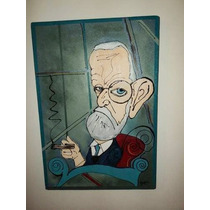 Cuadros Sigmund Freud, Caricaturas, Modernos, Pop