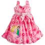 Vestido Princesas Bella Rapunzel Jasmin Disney Store