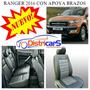 Funda Asiento Ranger 2016 Con Apoya Brazo Trasero