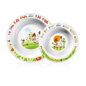 Set De Platos Hondos Avent Philips Scf708/00 Para Bebes