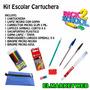 Kit / Set / Combo Escolar Cartuchera Primaria / Secundaria